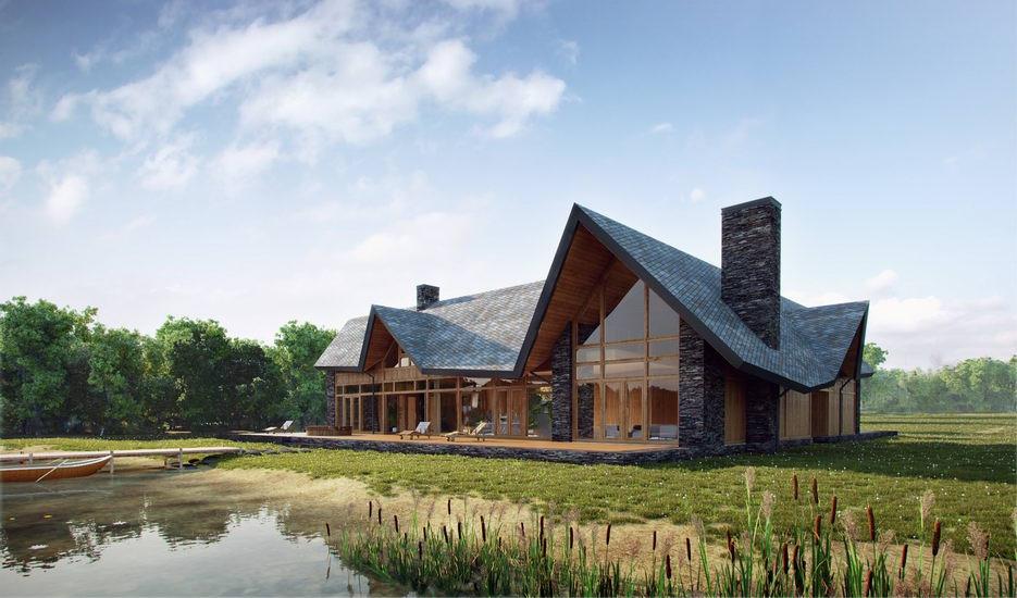 2012 Namas prie ežero